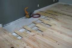 oak floor repair