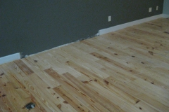 repaired oak flooring